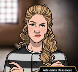 Adrienna Brassiere prison uniform