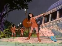 Thera Amazon Warriors Fangface Begone You Amazon 23