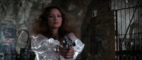 Fatima Blush (played by Barbara Carrera) Never Say Never Again 199-0