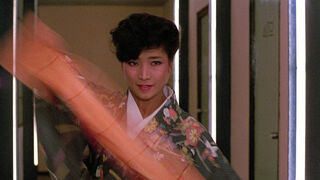 The Japanese Fighter in My Lucky Stars (played by Michiko Nishikawa) 88