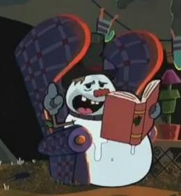 Storytelling Snowman