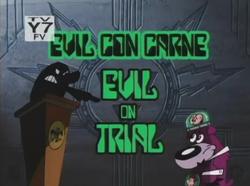 Evil on Trial