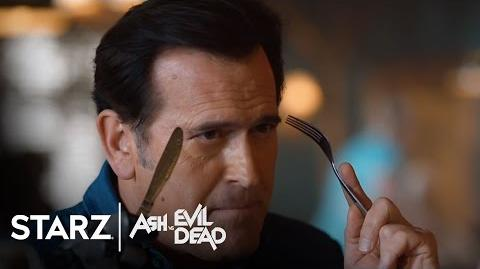 Ash vs Evil Dead Ep. 106 Clip Back to the Cabin STARZ