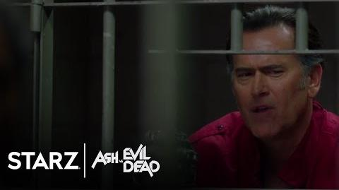 Ash vs Evil Dead Ep. 205 Clip Itchy STARZ