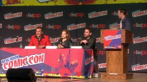 The Evil Dead - 2013 Remake Part One - New York Comic Con Panel