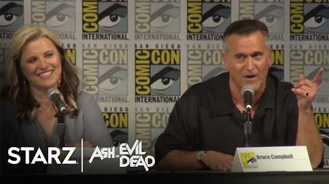 Ash vs Evil Dead 2016 San Diego Comic-Con Panel STARZ