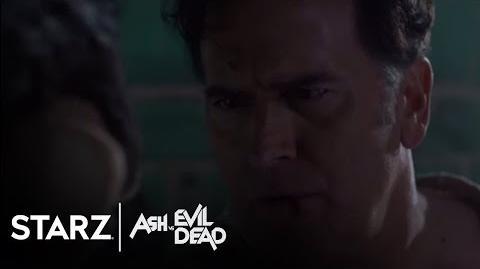 Ash vs Evil Dead Ep. 207 Clip Wakey Wakey STARZ