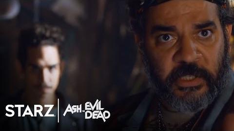 Ash vs Evil Dead Ep. 105 Clip All Feeling From the Waist Down STARZ
