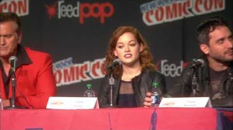 The Evil Dead - 2013 Remake Part Two - New York Comic Con Panel