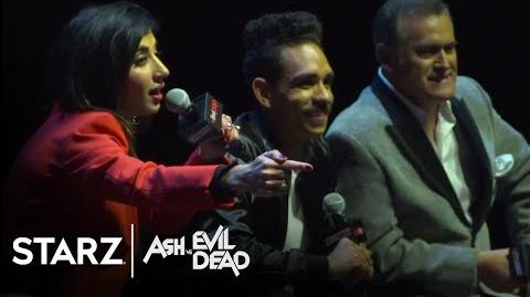 Ash vs Evil Dead New York Comic Con 2017 Panel STARZ
