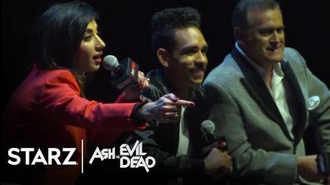 Ash vs Evil Dead New York Comic Con 2017 Panel STARZ