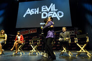 New York Comic Con 2015 - Ash vs Evil Dead event 032