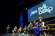 New York Comic Con 2015 - Ash vs Evil Dead event 031