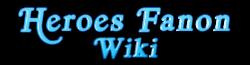 Heroes Fanon Wiki Wordmark