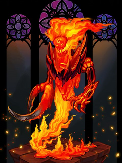 Ds creature fire elemental preview