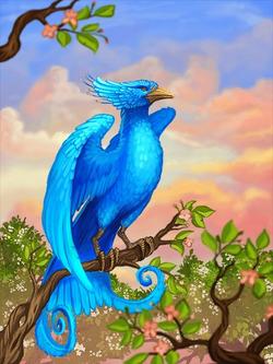 Ds creature blue bird preview