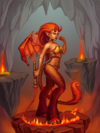 Ds creature demoness preview