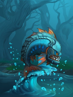 Ds creature piranha preview