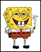 Bob fumando!