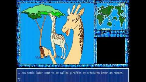 EVO The theory of evolution - Evolution short story Giraffe