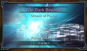 The Dark Beyond