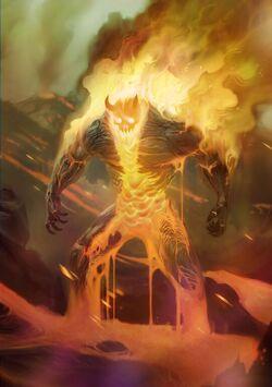 Fire Elemental+