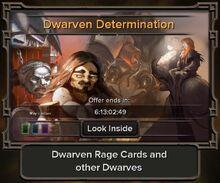 Dwarven Determination