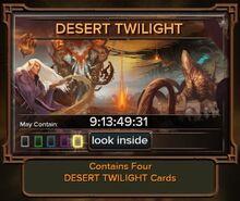 Desert Twilight (booster)