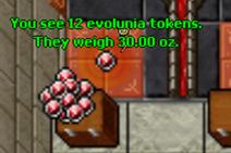 Evolunia tokens