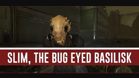 Slim, The Bug Eyed Basilisk (Evolve Stage 2)