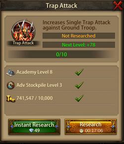 Trap attack1