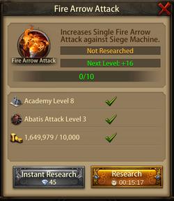 Fire Arrow Attack1