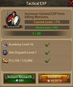 Tactical EXP6