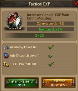 Tactical EXP4
