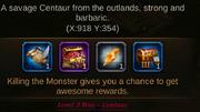 Lv 3 boss Centaur