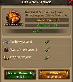 Fire Arrow Attack3