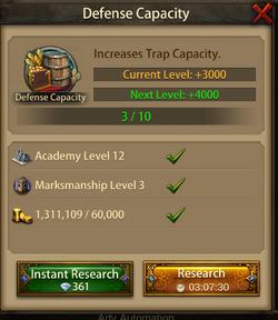 Defense Capacity4