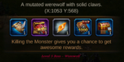 Werewold rewards