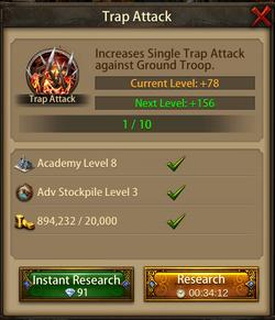 Trap attack2