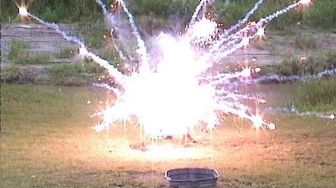 Fireworks Potato Chip Explosion