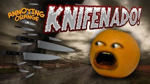 Annoying Orange - Knifenado! (Sharknado Parody)