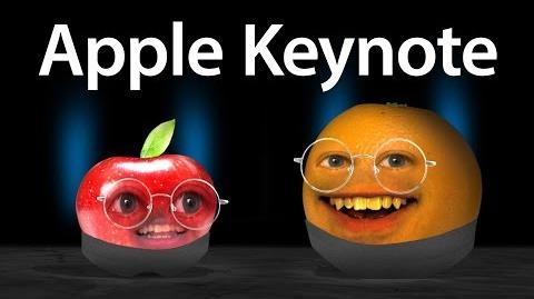 Annoying Orange - Apple Keynote Address