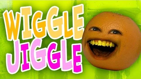 Annoying Orange - Wiggle Jiggle! (Original song)