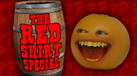 Annoying Orange - Red Shirt Special
