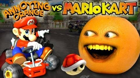 Annoying Orange - Annoying Orange Vs. Mario Kart