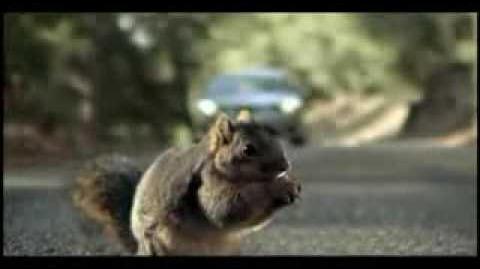 Screaming Squirrel Superbowl Bridgestone Commercial