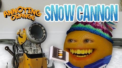 Annoying Orange - Snow Cannon!