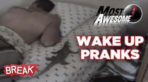 Scary Wake Up Pranks