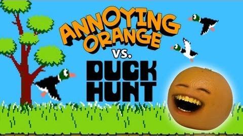 Annoying Orange vs Duck Hunt