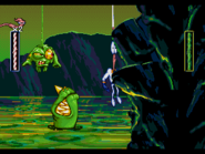 EarthwormJim MegaDrive bungee-chomp